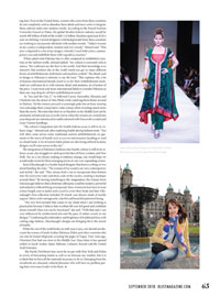 DList Magazine Article on Anar Couture